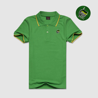 Wholesale custom logo advertising embroidered polo shirt