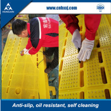 High wear resistant rig floor anti slip rubber mat