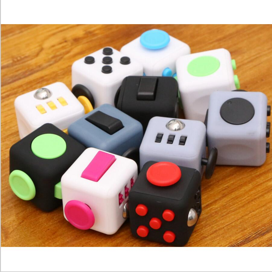 Mini Fidget Cube Relieves Anxiety Stress fiddle brick stress toy for gift