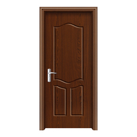 2017 New product high quality flush timber door