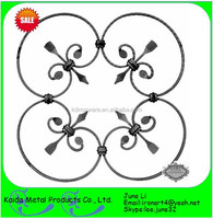nice elegant european style forged iron plate flower