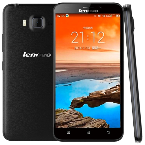 Lenovo A916 4G Smart Phone with Dual SIM Card 5.5 inch Android 4.4 MT6592M + 6290, 8 Core 1.4GHz, RAM: 1GB Black