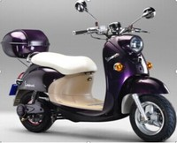 purple color CE EEC marked 600W 48V electric scooter MGS053 with big wheel