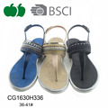 Women summer flat latest plastic sandals