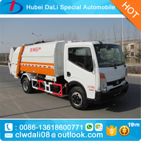 Dongfeng sinotruck howo 4*2 small garbage truck Sealed Dump Small Garbage Truck
