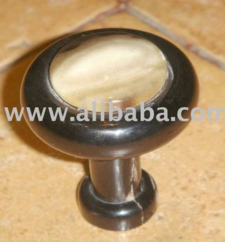 buffalo horn knobs