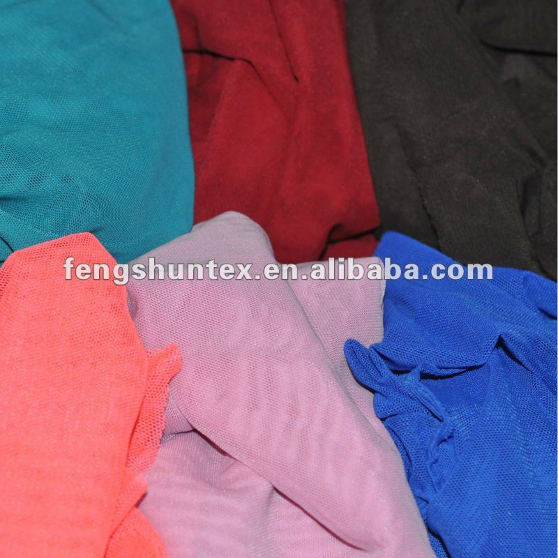 stretch polyester mesh fabric