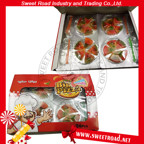 Pizza Shape Fast Food Gummy Candy