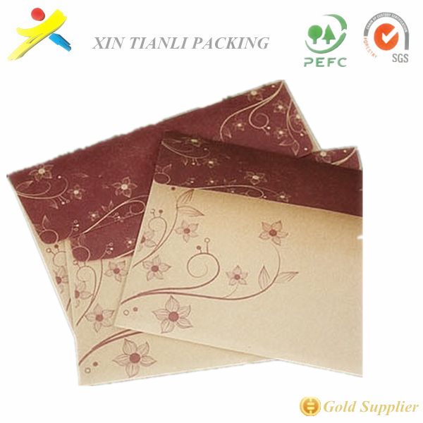customized kraft paper envelope,high quality paper cd envelope fast delivery