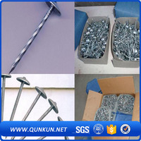 screws ring shank roofing nails with washer