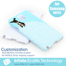 Custom Water Printing Fancy Design your own Plastic back cover Smart Phone Case for Samsung Galaxy Note 3 Cover