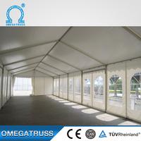 Wholesale custom Aluminum 6061T6 clear roof cheap wedding tent