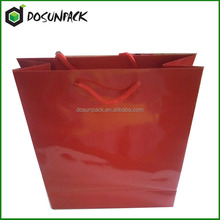 Low price custom colored wedding gift paper bag