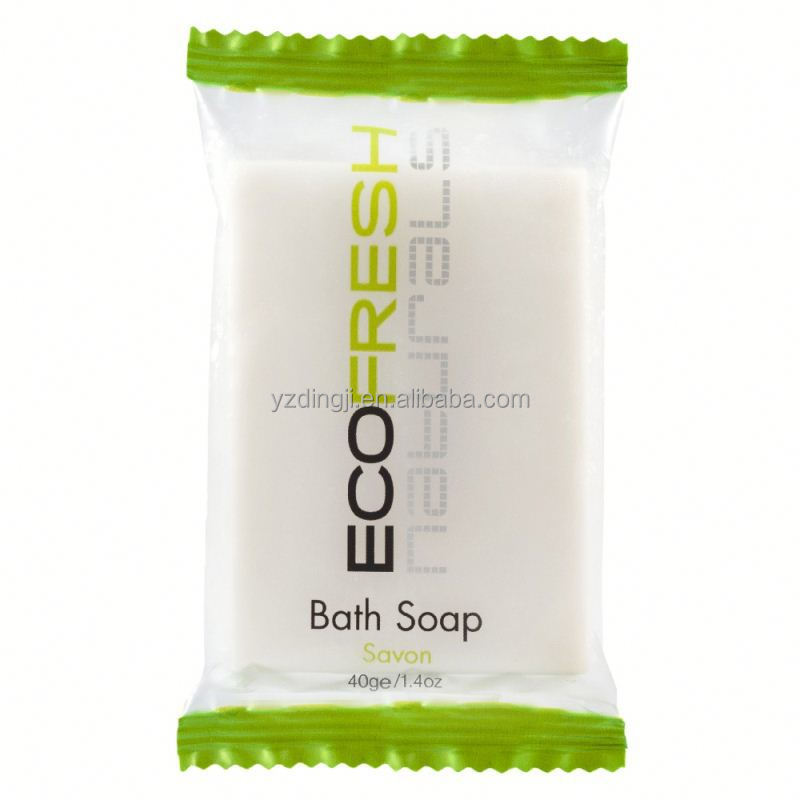 5 star hotel high quality bathroom accessories in dubai /bathroom disposable amenities /8 gram mini hotel soap manufacturer