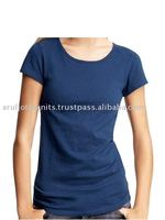 100 % COTTON KNITTED WOMEN'S PLAIN TOP