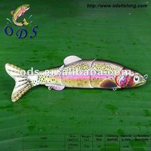2012 high quality five-section fishing lure bait Top Water Propeller Bait