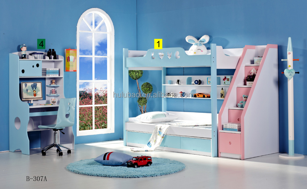 Cheap Children Bunk Bed / Kids Double Deck Bed