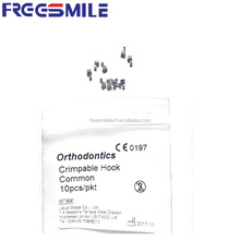 Short type Orthodontic Crimpable Hooks for dentist