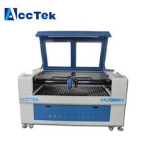cnc co2 laser glass tube cutting machine with reci co2 laser tube W8
