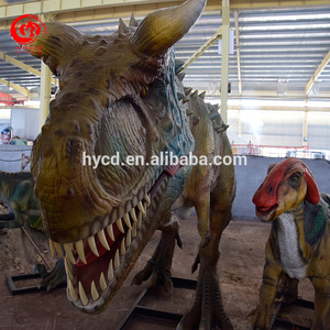 Waterproof 3D Dino Model T-Rex Animatronic Dinosaur