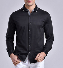 Dress Shirt Manufacturers Cutaway Collar Cotton Shirt Mens dress shirts