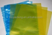 Flat VCI bags with customized color for protecting metal anti rust