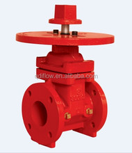 FM UL NRS GATE VALVE FLANGED WITH POST PLATE 300PSI