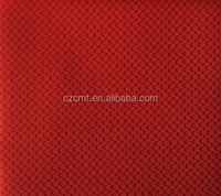 CMT polyester oxford fabric FDY red jacquard fabric with PVC/PU/ULY coated