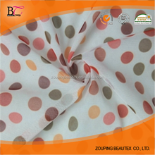 Wholesale nylon spandex high stretch printed mesh fabric with small holes