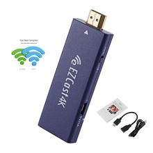 happy ezcast 4K HD android wifi dongle Dual Band 5GHz WiFi Miracast Airplay DLNA receiver for tv For IOS11 Android Wins