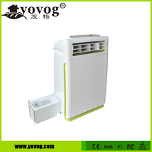 High capacity negative ion hepa air purifier for smoking room use