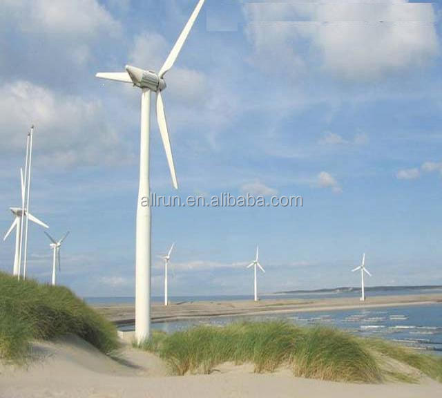 high efficiency 30kw 50kw 1mw powerfull horizontal axis wind turbine generator