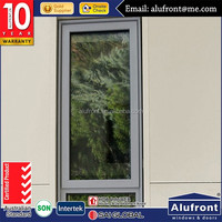 Cheap Aluminum Window Frame Parts_with as2047 &double glazed glass Australian standard