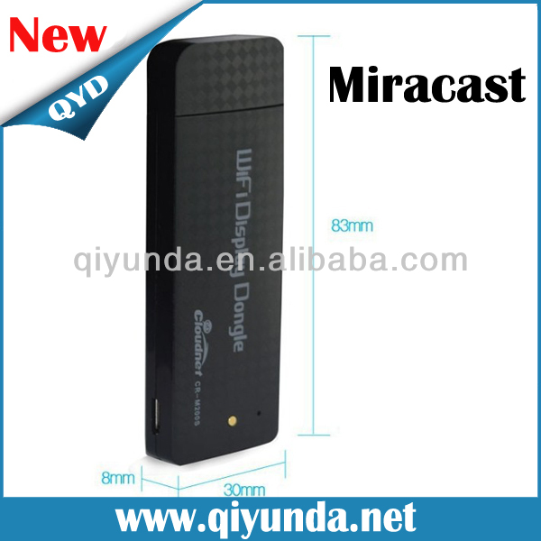 Miracast Airplay DLNA WiFi dongle smart TV HD A9 RK2928 WiFi Display ez cast tv dongle