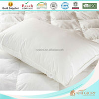 Ultra Comfortable White Polyester Microfiber Filling Pillow Insert Soft As Down Pillow for Home