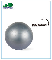 Foam anti-burst gym ball