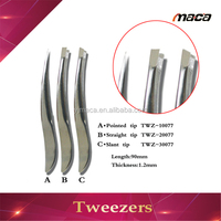 TW1023 fashion costom stainless steel tweezers volume lashes