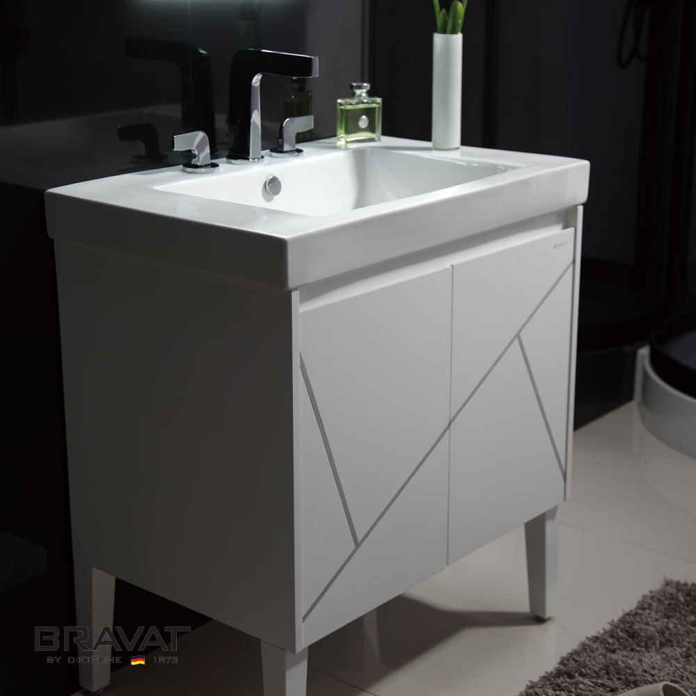 white decorative modern PVC bathroom furniture kitchen furniture for small kitchen