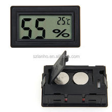 2016 new Mini Digital LCD Indoor Temperature Humidity Thermometer Hygrometer Meter