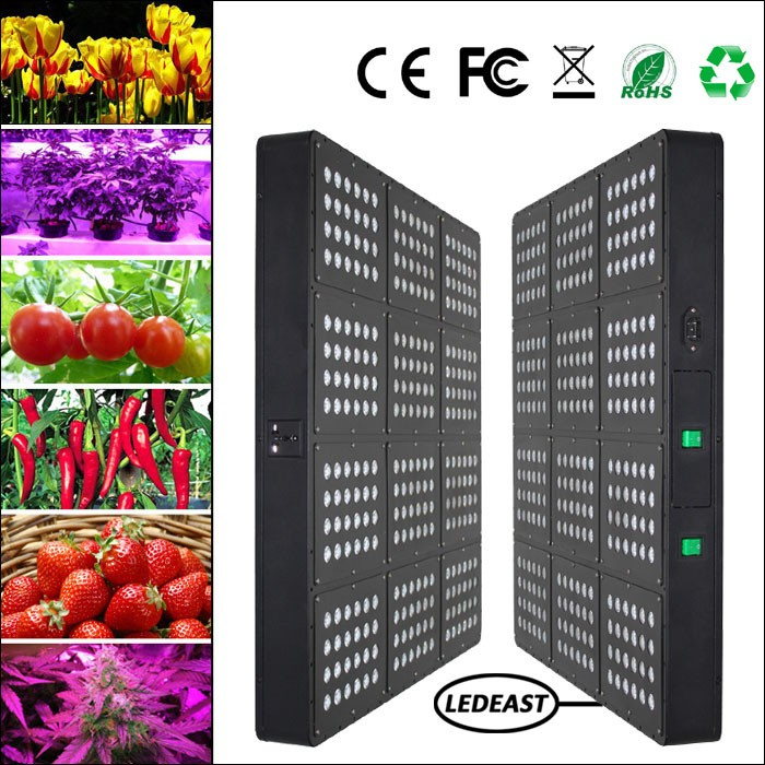 High power 1500w plant grow led light fruit green full spectrum 5w led grow lights