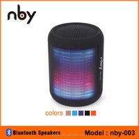 portable bluetooth speakers subwoofer with flashing light