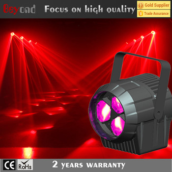 Wholesale mini led beam par light 3*4in1 15w mini bee eye disco ball light