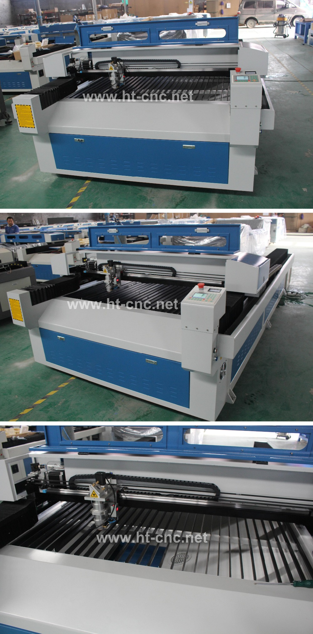 1325 size 150W/180W/260W co2 metal and nonmetal laser cutting machine