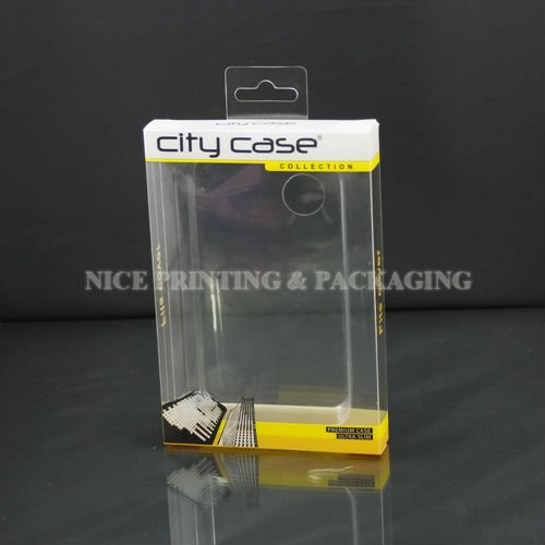 Clear pvc plastic iphone case packaging box,case for iphone 5 packaging