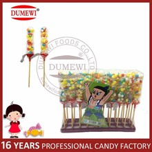 Competitive Price Mini Sugar Candied Haws Toy Candy with Puffed Chocolate Bean