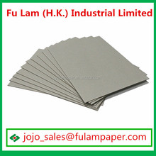 Cutting size grey board card sheets 2mm gray board suppliers