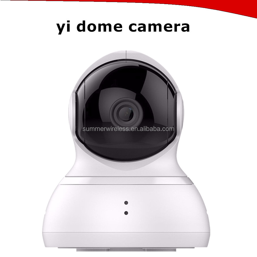 In Stock Xiaomi YI Dome IP Camera with 112 Wide Angle 720P WiFi Webcam Two-way Voice Call Infrared Night Vision