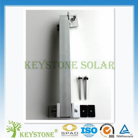 Highly cost effective adjustable front support and rear support of Solar Panel mounting system