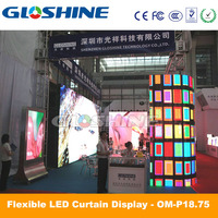 outdoor china hd led display screen hot xxx photos/P18 outdoor full color video led curtain
