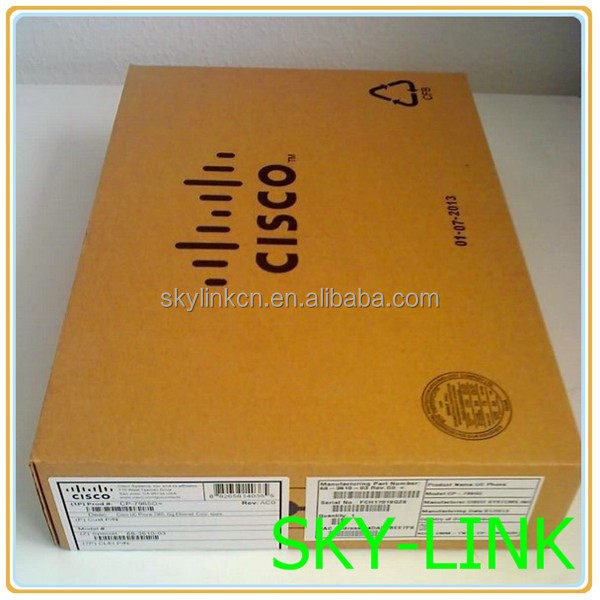 Cisco CP-7965G Unified VOIP IP Phone 7965 LCD Display